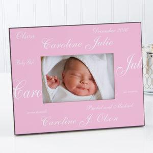 new baby frame