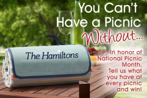 Picnic Blog 300x200 You Cant Have A Picnic Without ... Contest Winner Announced!