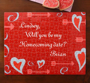 puzzle 300x278 How to ask a girl to Homecoming with style!