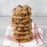 Chewy Chocolate Chip Snickers Cookies Bakers Royale Stacked 150x150 Thoughtful & Homemade Sweets For Your Sweetie!