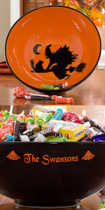 halloweenbowl1 150x300 How To Be The Cool House That Trick or Treaters Love!