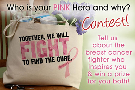 BreastAwareness And the Pink Hero Contest Winner is ...