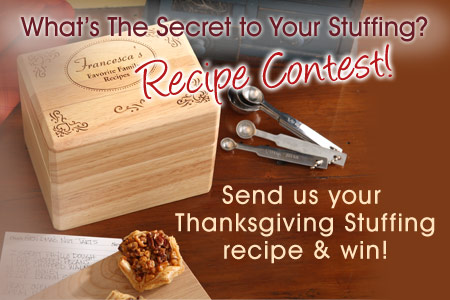 ThanksgivingBlog1 Whats the Secret to Your Stuffing? Tell us & Win!