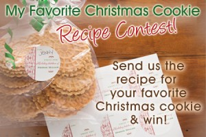 ChristmasCookieBlog 300x200 Share your Favorite Christmas Cookie Recipe & win!