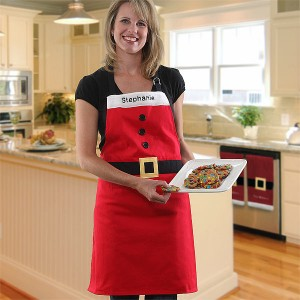 santa apron 300x300 Hostess Gift Ideas to Make You the Guest With The Mostess!