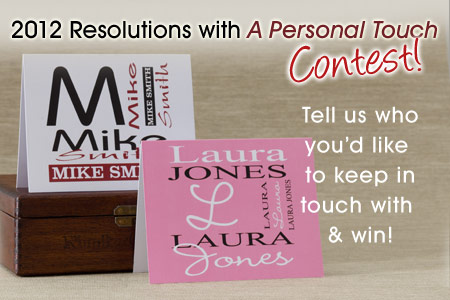 New Years Blog1 Its Here: A Personal Touchs Resolutions Contest!