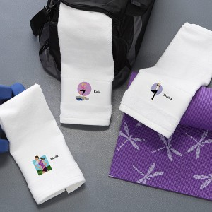 workoutgirltowel 300x300 How To Make Your Resolutions Fun & Easy To Keep!