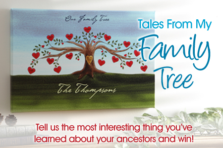 NatGenealogyDay Blog1 Share Tales From Your Family Tree & Win!