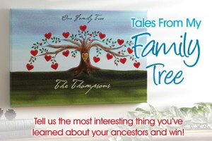 NatGenealogyDay Blog11 300x200 Tales From My Family Tree Contest Winner Named!