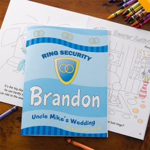ringsecuritycoloringbook 300x300 Wedding Party Gift Guide: Ring Bearer Edition