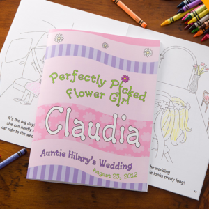 flowergirlcoloringbook 300x300 Wedding Party Gift Guide: Flower Girl Edition