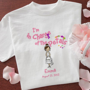 flowergirlshirt 300x300 Wedding Party Gift Guide: Flower Girl Edition
