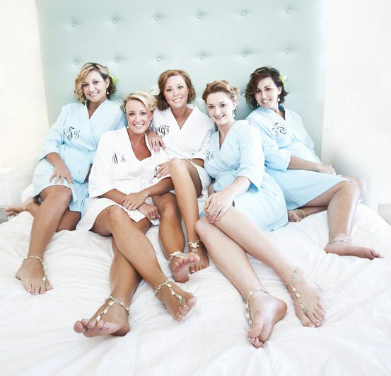 BridesmaidsRobe Wedding Party Gift Guide: Bridesmaid Edition
