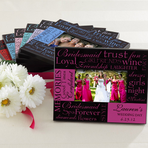 bridesmaidframe 300x300 Think Outside The Gift Box: Bridal Shower Fun!