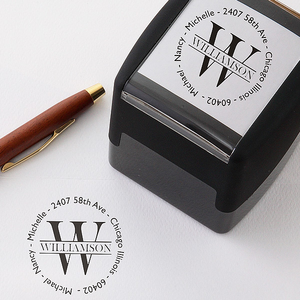 Namely Yours Address Stamp