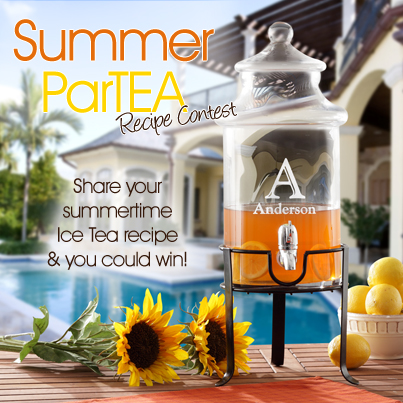SummerPartea Blog v1 Share Your Recipe For The Perfect Summer ParTEA & Win!