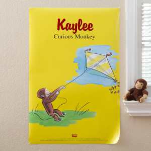 curious george poster1 300x300 Make It A Curious George Birthday Party!