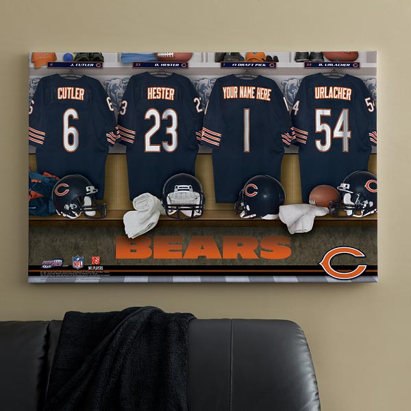 bears canvas art