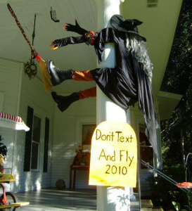 witch 273x300 Quick & Easy Halloween Decorating Tips