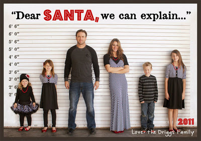 dearsantacamilypicture Ideas For Cute & Clever Christmas Card Photos