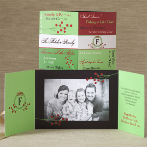 xmascard 300x300 Ideas For Cute & Clever Christmas Card Photos