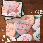 heartpuzzle 150x150 Were Crazy For Conversation Hearts!