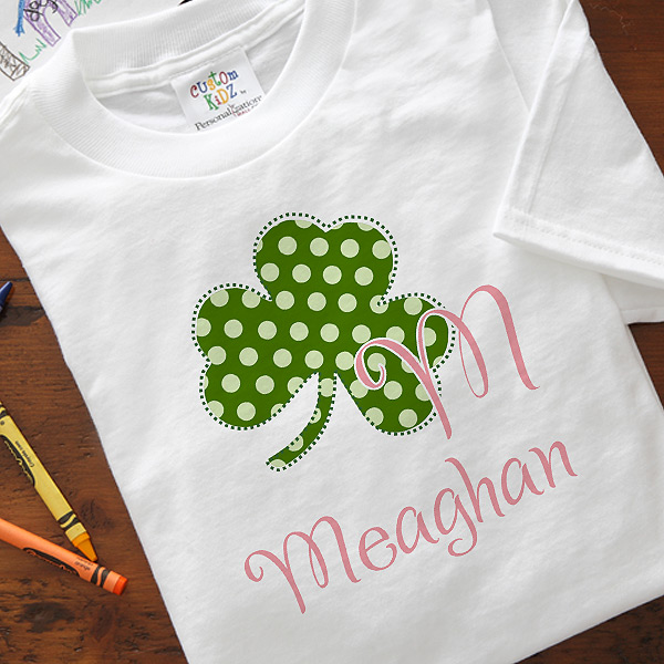 kids st. Patrick's day shirt