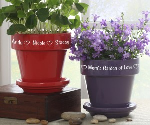 custom flower pots