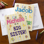 sibling coloring book 150x150 Show Some Sibling Love This Spring!