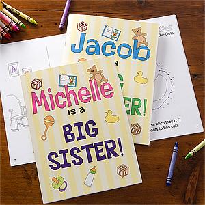 sibling coloring book