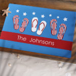 flipflopsamerican 150x150 Add Some Personal Flare to your 4th of July Party!