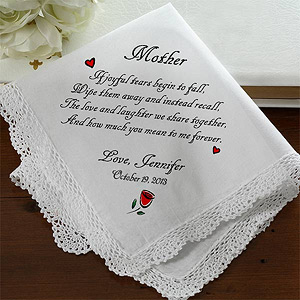 handkerchief Wedding Gift Guide: Gifts for Parents of the Bride & Groom!