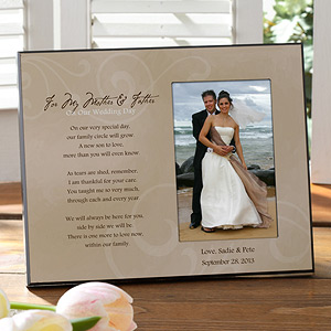 weddingframeforparents Wedding Gift Guide: Gifts for Parents of the Bride & Groom!