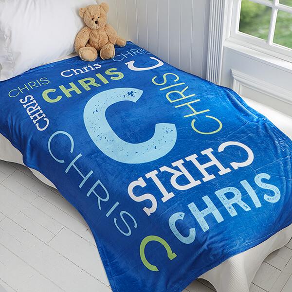 Personalized Kids Blanket
