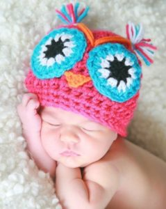 babyowl 239x300 We Cant Get Enough Of the Owl Trend!
