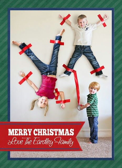 cardidea4 Ideas for Cute & Clever Christmas Card Photos   Part 2!