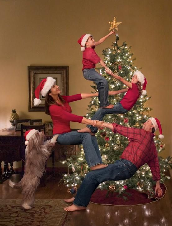 cardidea9 Ideas for Cute & Clever Christmas Card Photos   Part 2!