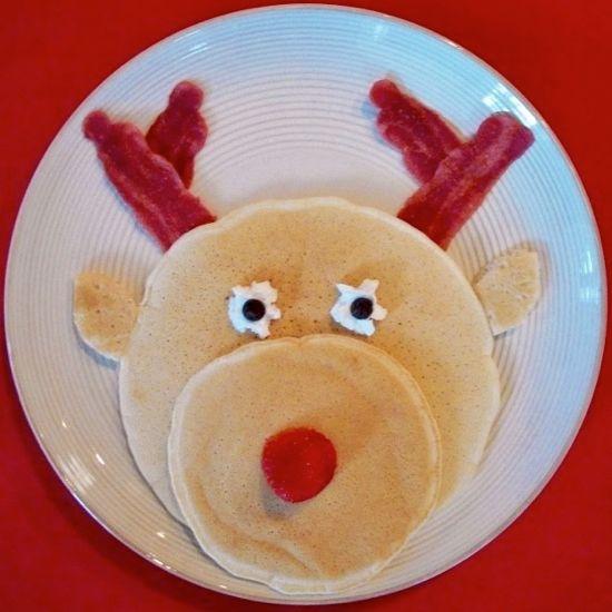 Reindeer Pancakes
