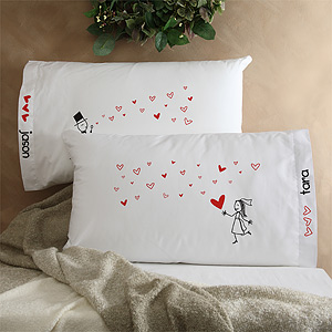 pillowcases Gift Ideas for Long Distance Love