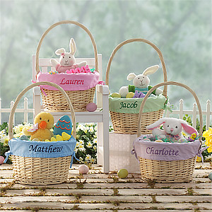 jumbo baskets1 Easter Basket Cupcakes are Sure to be a Hit!