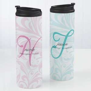 name meaning custom tumbler