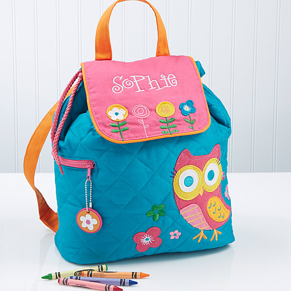 Loveable Owl Personalized Backpack