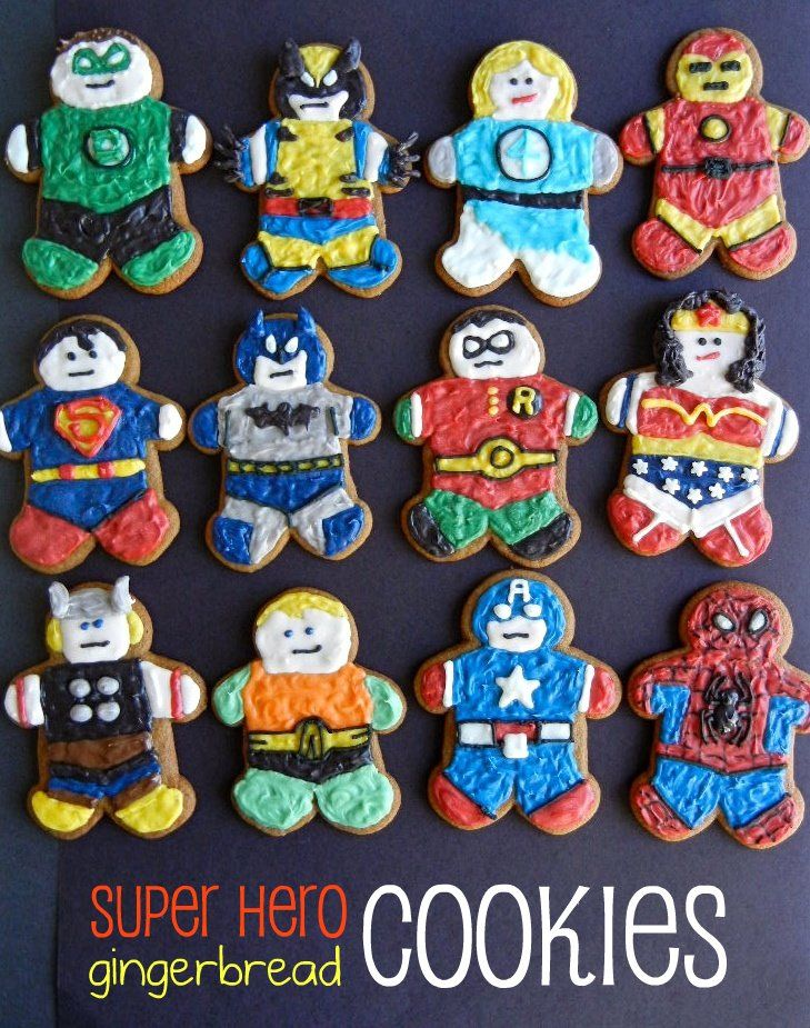 super hero cookies Have Superhero Fun on Comic Book Day!