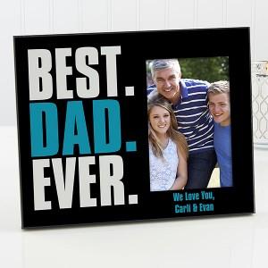 Best Dad Ever Photo Frame