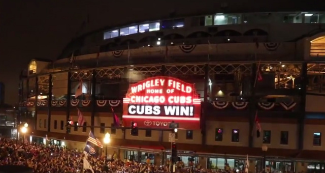 Chicago Cubs Win World Series