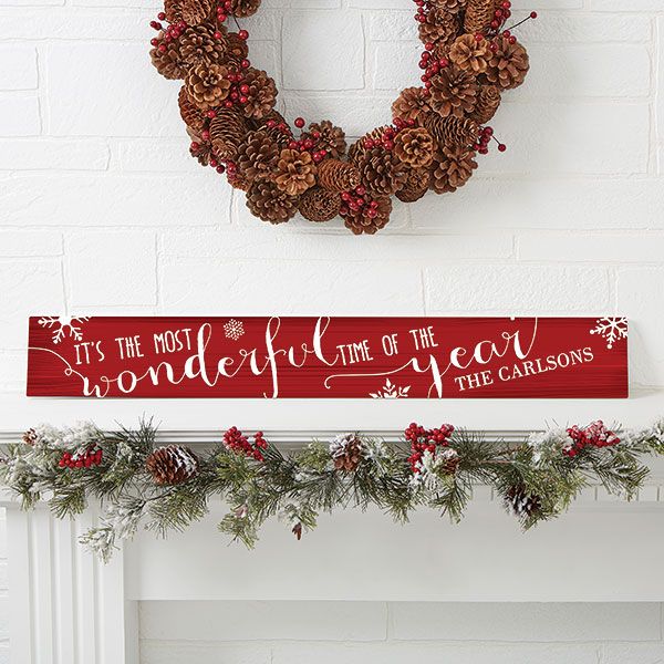 Christmas Quotes Wood Sign