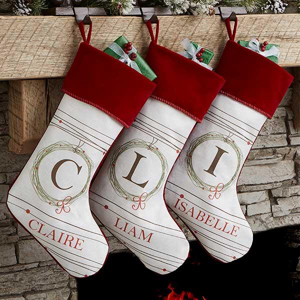 Classic Elegant Christmas Stockings