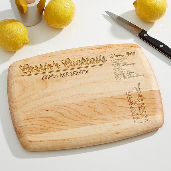 Custom Bar Cutting Board