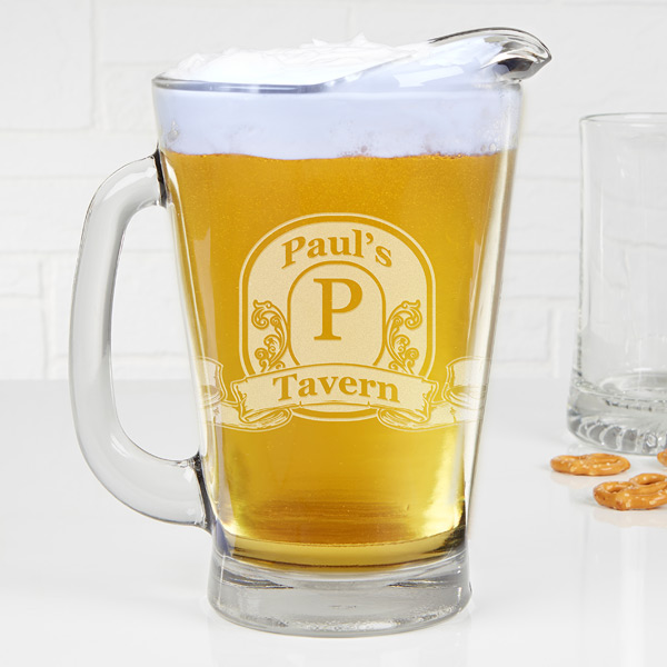 Custom Beer Pitcher