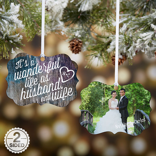 Custom Wedding Ornament